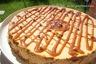 Cheesecake à la confiture de lait et éclats de caramels au beurre salé