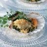 Coquilles saint-jacques au beurre de noisette et d'herbes