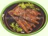 Côtes découvertes de porc à la sauce piquante