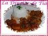 Filet mignon aux abricots secs