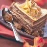 Gâteau de crêpes à la crème de marrons
