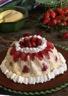 Gâteau de semoule aux fraises