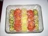 Gratin de courgettes tomates et pommes de terre