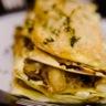 Lasagnes craquantes aux 3 fromages patate douce & légumes oubliés