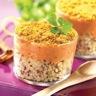 Lentilles corail au quinoa gourmand façon parmentier