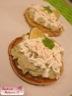 Pancake citron vert brandade à la coriandre chantilly wasabi