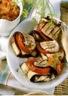 Pannequets d'aubergines grillées à la sauce tomate