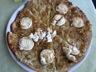 Pizza aux oignons confits et chèvre