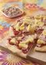 Pizza hawaïenne au jambon et ananas