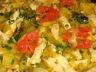 Poêlée de dinde et fondue de poireaux au pamplemousse
