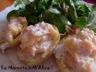 Pommes de terre farcies jambon - cancoillotte