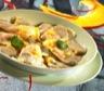 Ravioles de potiron crème de cresson