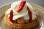 Saint-honoré chantilly fraise