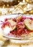 Salade de chou rouge aux pommes et oignons
