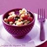 Salade de haricots blancs et artichauts plats