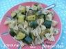 Salade de pâtes, courgettes et sauge