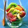 Salade forme au kiwi