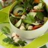 Salade fraîcheur de mâche et Boursin salade