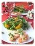 Salade thaï aux crevettes et aux mandarines, une belle idée pour la st-valentin!