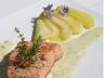 Saumon à la poire sauce Roquefort Papillon
