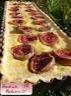 Tarte aux figues, crème de citron, amande et huile d'olive