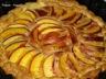 Tarte aux nectarines et creme d'amande