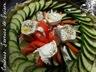 Tarte courgettes, tomates et chèvre
