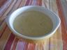 Velouté de topinambours au curry