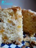 Cake d'halloween : potiron et amandes