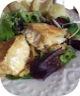 Camembert pané en chapelure de noisette