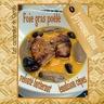Foie gras de canard poëlé velouté de butternut, émulsion de cêpes