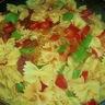 Mes pâtes chorizo  /  haricots plats