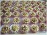 Mini tartelettes au chocolat et cacahuètes