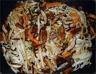 Nouilles udon sautées aux légumes et tofu (vgl)