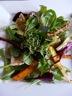 Salade de  carottes et avocat et sa vinaigrette d'agrumes