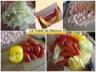 Spaghetti de courgette au saumon et crevettes