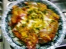 Tajine d'agneau aux fenouils / p'tits pois et sa salade