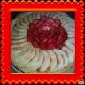 Tarte aux pommes / fraises