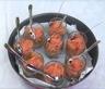 Verrines de saumon fumé - pommes - gingembre