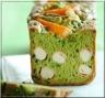 Cake Vert Basilic et Surimi