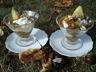 Compotée de figues au miel et fromage frais