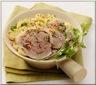 Émincé de Tête de Veau en Salade Pommes de Terre et Oignons Rouges