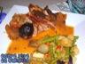 Filet mignon de porc aux pruneaux et pomme acidulée