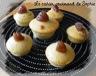 Muffins vanillés aux marrons (crème de marron, marrons glacés)