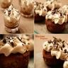 Petites cakes à la crème de marron et au cognac