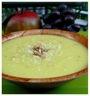 Potage velouté de chou-fleur et épices