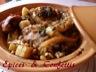 Tajine au poulet / pommes de terre