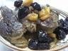 Tajine hlou / tajine de gigot roti aux pruneaux et abricots secs