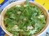 Tarte aux tomates vertes, au pesto de tomates séchée et chèvre