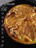 Tarte bourdaloue (poires & crème d' amande)